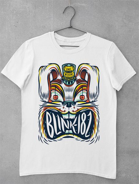 tricou blink 182