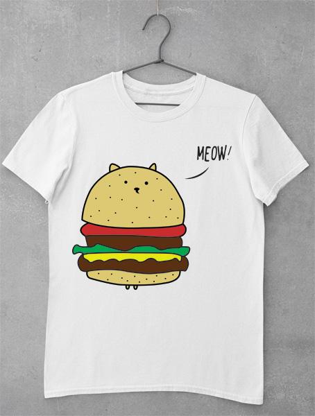 tricou cat burger