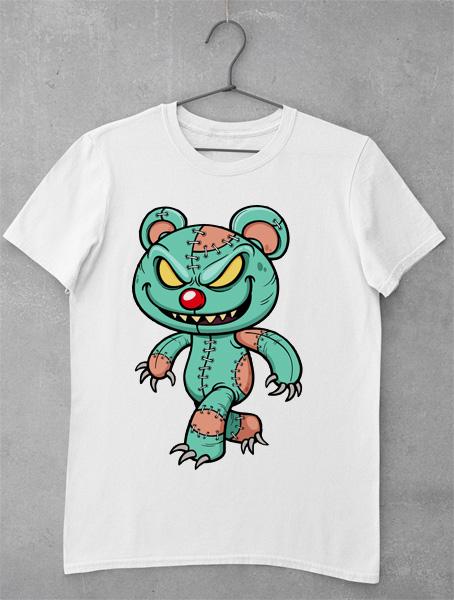 tricou evil teddy bear 2
