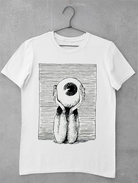 tricou eye head