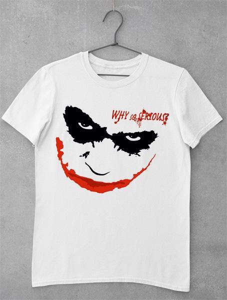 tricou face joker