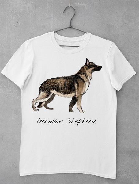 tricou german shepherd