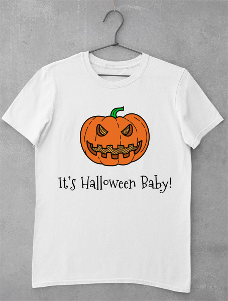 tricou its halloween baby