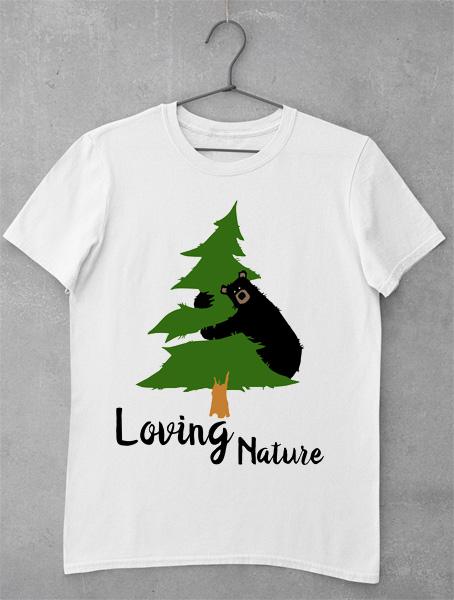 tricou loving nature