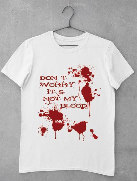 tricou patat de sange