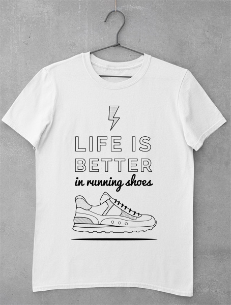 tricou running shoes