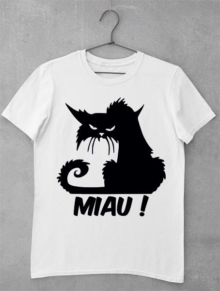 tricou scarry cat