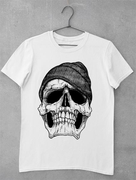 tricou skull cap