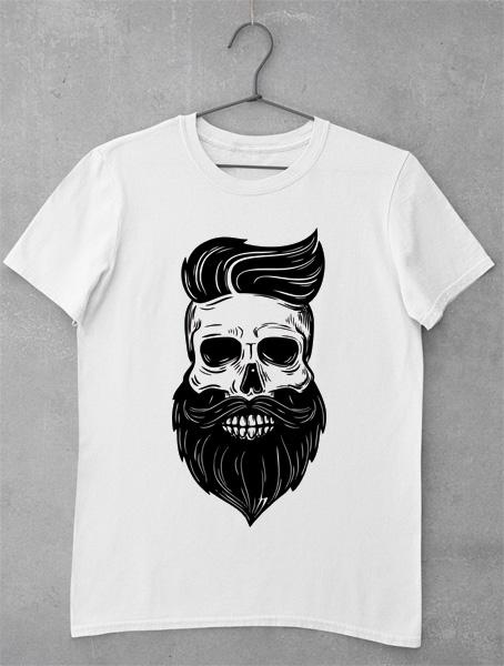 tricou skully beard