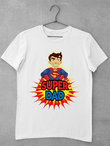 tricou super dad