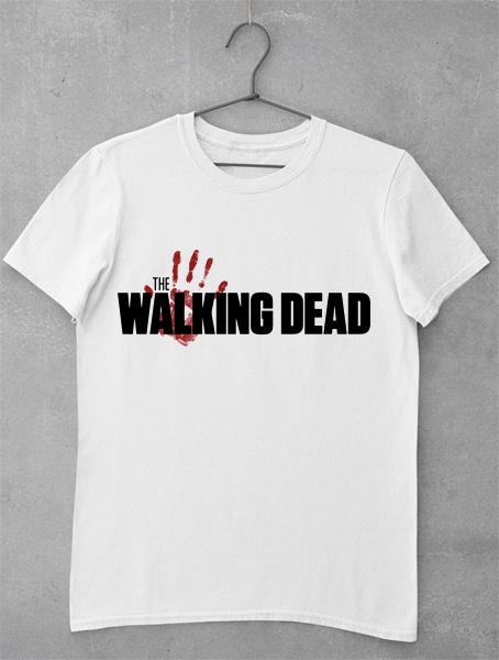 tricou the walking dead logo