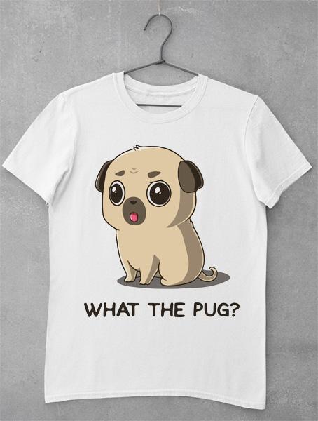tricou what the pug
