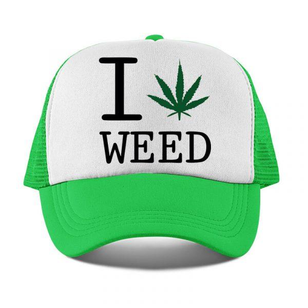 sapca i love weed