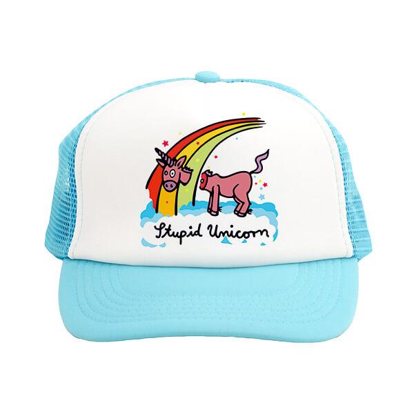 sapca unicorn bleu