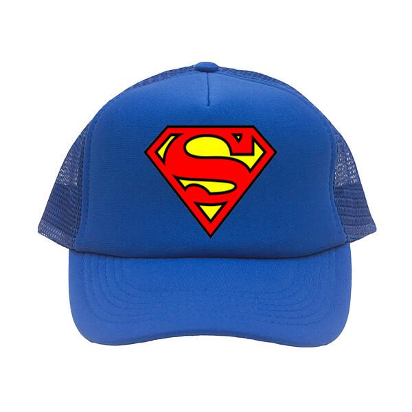 sapca superman albastru