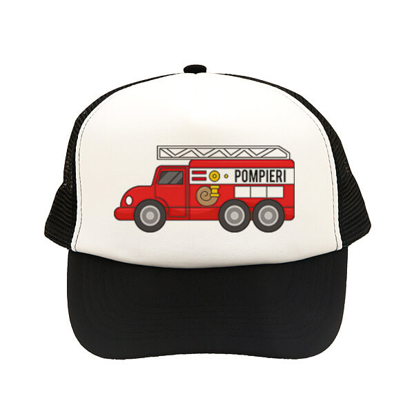 sapca copii pompieri