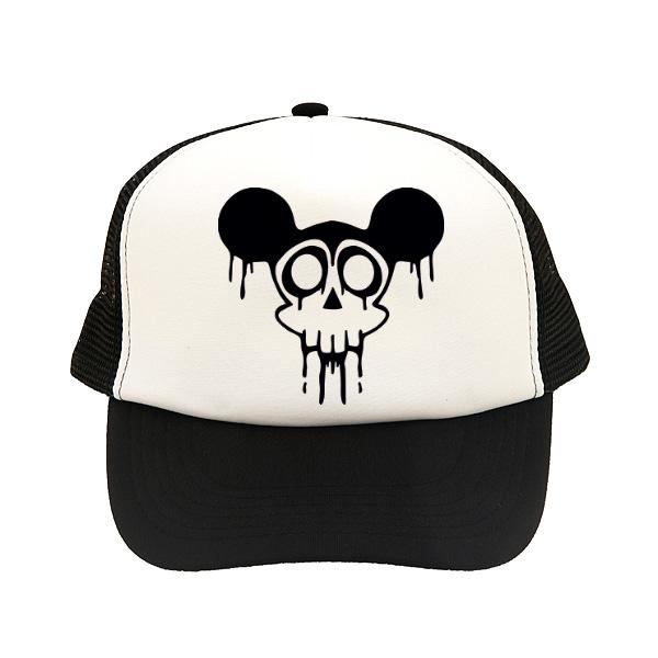 sapca mickey skull