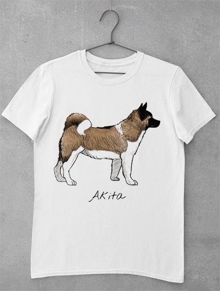 tricou akita