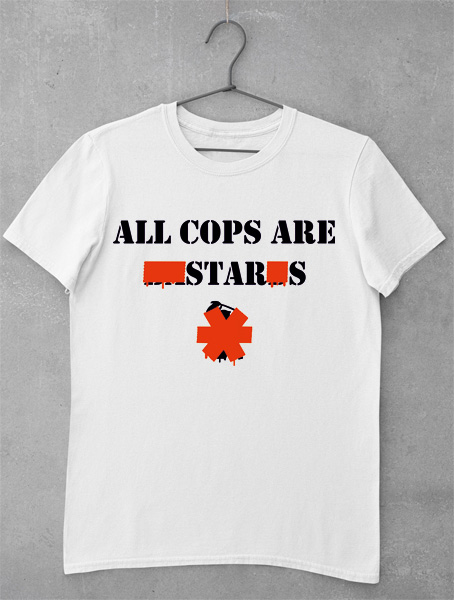 tricou all cops are stars