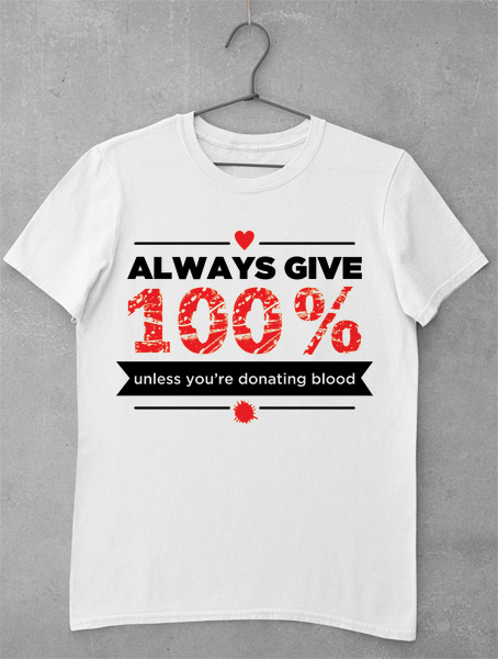 tricou always give