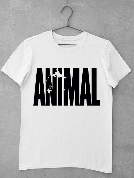 tricou animal gym