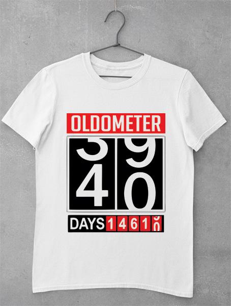 tricou aniversar 40 de ani