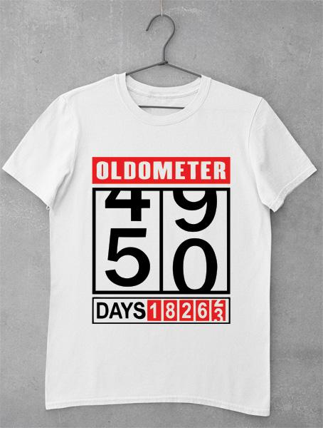 tricou aniversar 50 de ani