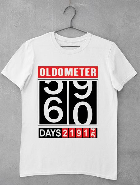 tricou aniversar 60 de ani