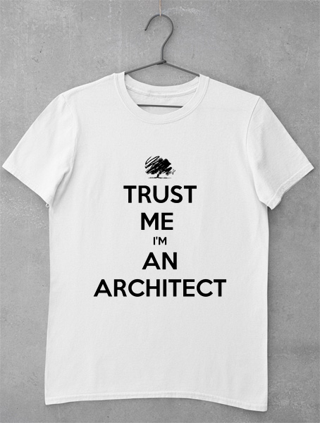 tricou arhitect