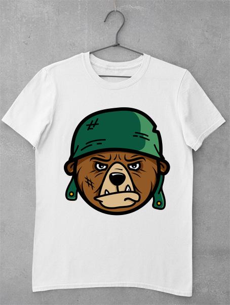 tricou urs armata