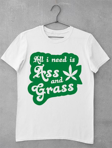 tricou ass grass pass