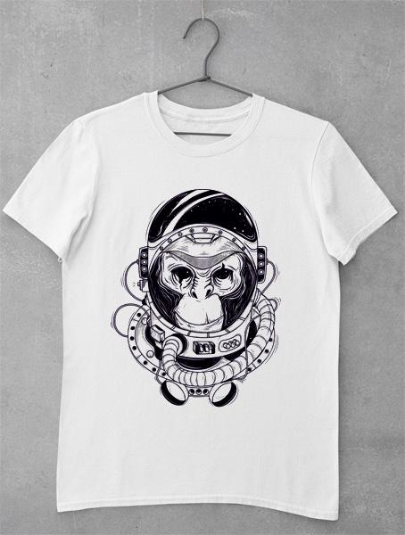 Tricou Astronaut Monkey