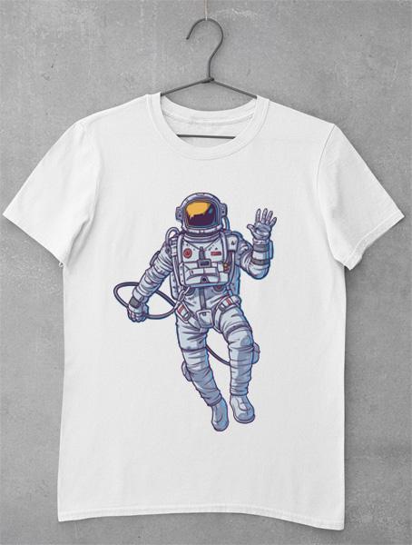 tricou astronaut