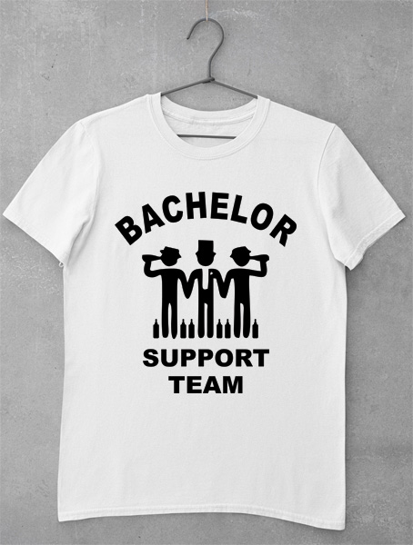 tricou bachelor support team