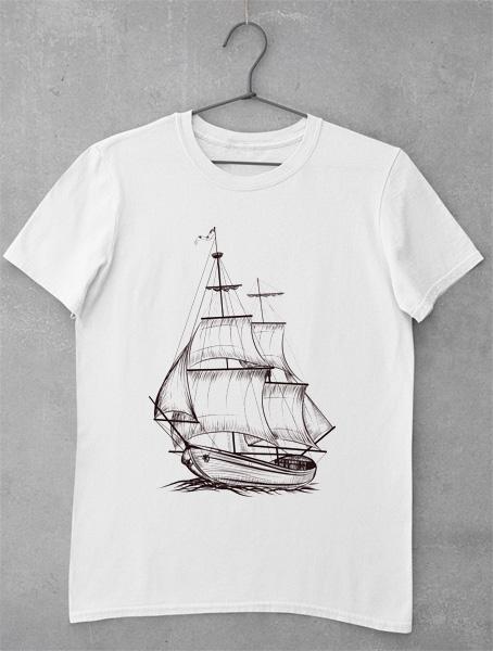 tricou barca vintage 2