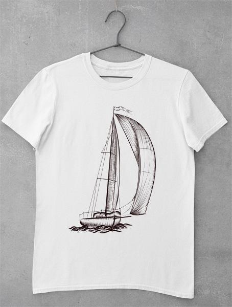 tricou barca vintage 3