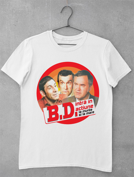 tricou bd in actiune