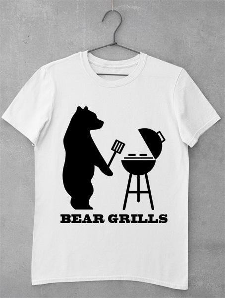 tricou bear grills