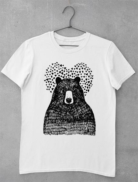 Tricou Bear Hearts
