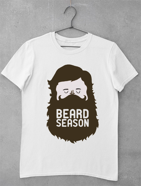 tricou cu barba