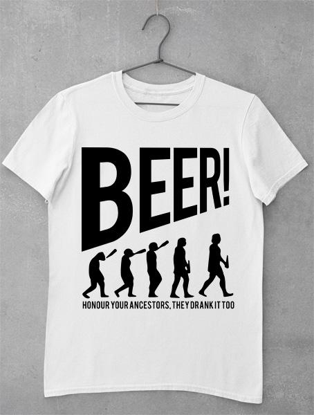 tricou beer evolution