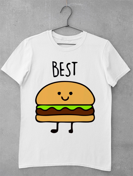 tricou best burger friend