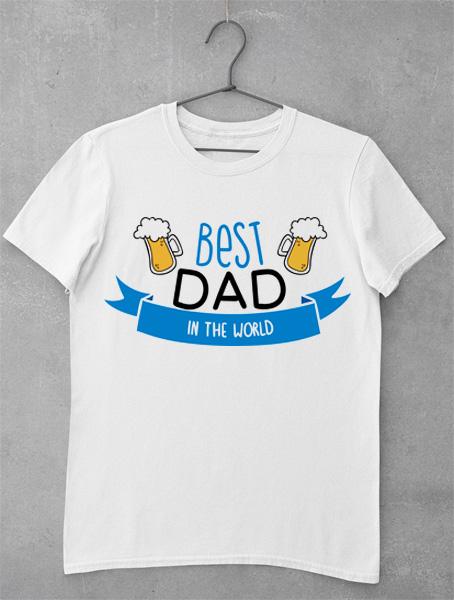 tricou best dad beer