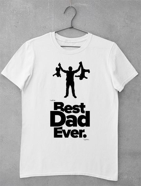 tricou best dad ever