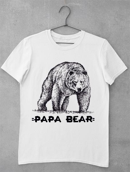 tricou urs big papa bear