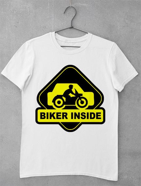 tricou biker inside
