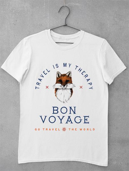 Tricou Bon Voyage