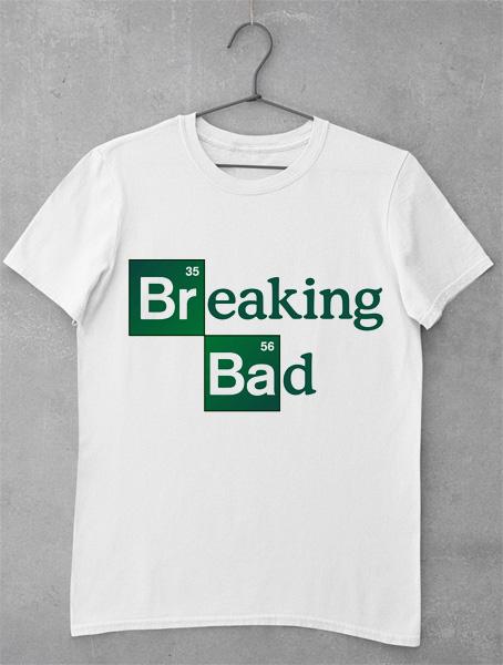 tricou breaking bad logo