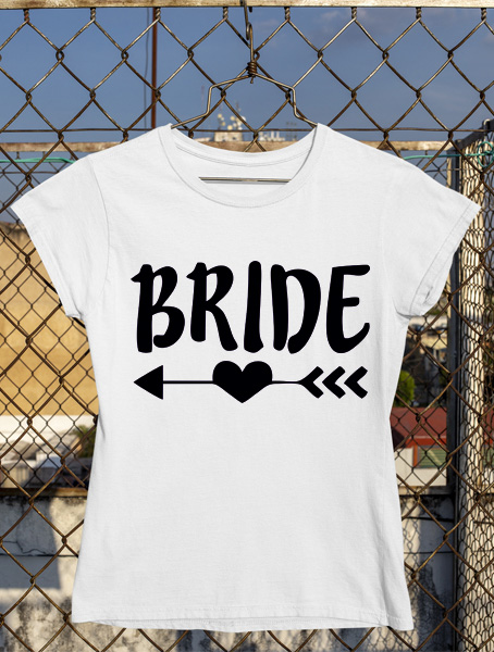 tricou bride for tribe