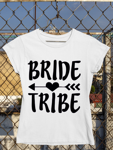 tricou bride tribe